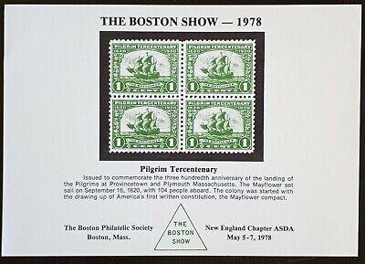 Souvenir Card: The Boston Show 1978 ASDA Boston Chapter May 1978
