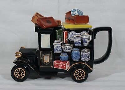 RARE VINTAGE PAUL CARDEW LARGE LIMITED EDITION OF 17, 500 THE RINGTONS VAN TEAPOT