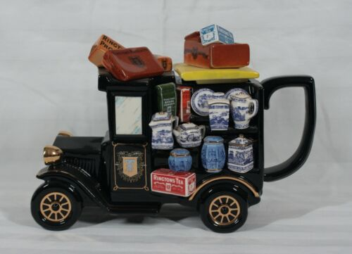 RARE VINTAGE PAUL CARDEW LARGE LIMITED EDITION OF 17,500 THE RINGTONS VAN TEAPOT