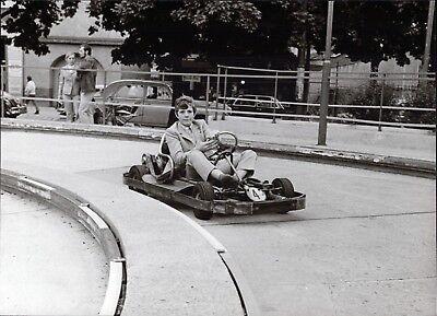 Heintje - Go-Kart - Vintage Foto de Prensa Foto Norbert Unfried (U-4117 segunda mano  Embacar hacia Spain