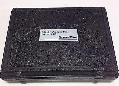 Thomas Betts Ez Coder Wire Marker Printer Wd-25p 104586 Pzb