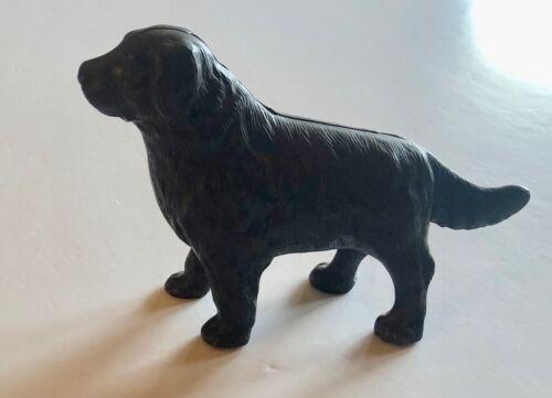 Antique Cast Iron Arcade Newfoundland Dog Bank