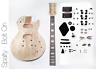 NEW DIY Electric Guitar Kit - Singlecut Spalted Maple Bolt On Neck