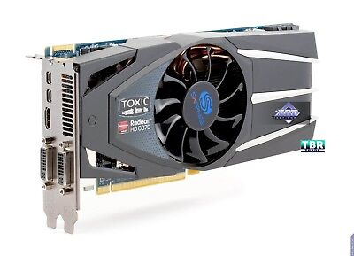 Sapphire Radeon HD 6870 1 GB DDR5 DL-DVI-I/SL-DVI-D/HDMI/Dual Graphics Card  for sale  Shipping to Canada