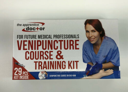 The Apprentice Doctor Venipuncture Course Training Kit Future Medical NIB - $58.99