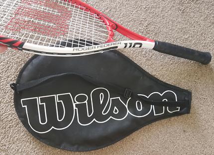 Tennis racquet. Wilson Roger Federer 110.