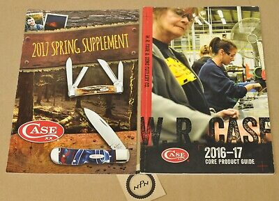 2016-17 WR Case XX Knives Book Core Product Guide + 2017 Spring Supplement