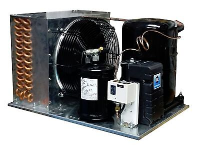 Outdoor Km2510z-2 Condensing Unit 2-12 Hp Low Temp R404a 220v Assemble In Usa