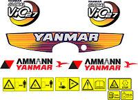 Yanmar Vio 27 Escavatore Decalcomania Set -  - ebay.it