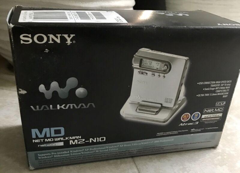 Sony net MD walkman