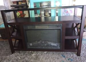 Fireplace Cabinet Like New!