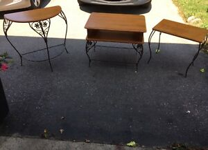 Set of Three Side Tables - Great Condition