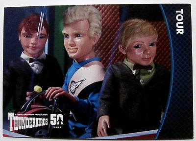 THUNDERBIRDS 50 YEARS - Card #19 - Gerry Anderson - Unstoppable Cards Ltd 2015