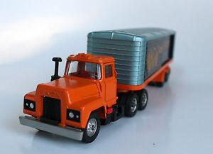 Corgi Major Toys No 1100 Mack Truck with Trans-Continental trailer Die-Cast