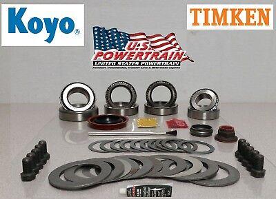 New Master Bearing Ring and Pinion Installation Kit 8.8 10 Bolt Fits 83-06 Ford (Ring And Pinion Installation)