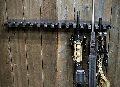 CLOSET GUN RACK TACTICAL HOSTLER 15 LONG GUN RIFLE GUNSAFE SEMI AUTOMATIC