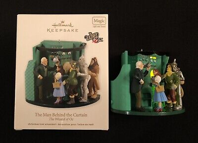 "2012 Hallmark The Wizard Of Oz "" The Man Behind the Curtain "" Light &"