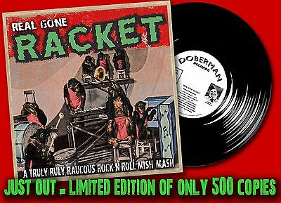 JUST OUT- REAL GONE RACKET LP 50's/60's Wild Rock'N'Roll & Rockabilly Comp HEAR
