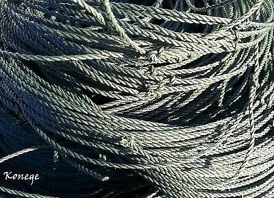 Teichnetz 10x30m, Maschenweite 10cm Reiherschutznetz  Auch Sondergrößen!