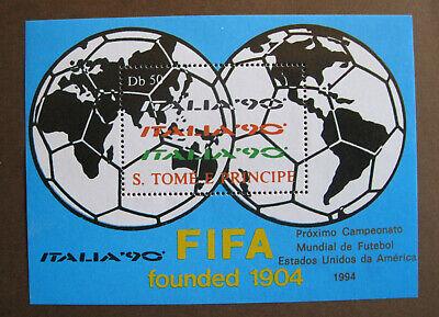 S. TOMÉ E PRINCIPE - ITALIA '90 - FIFA founded 1904 -...
