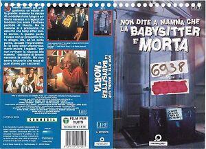 NON-DIRE-A-MAMMA-CHE-LA-BABYSITTER-E-039-MORTA-1991-vhs-ex-noleggio