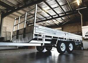 14x7 FLAT TOP TRAILERS ATM 3500kg - BRAND NEW!! Currajong Townsville City Preview