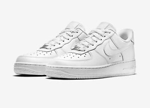 Nike Air Force 1 '07 Herren Sneakers Weiß, EU 41