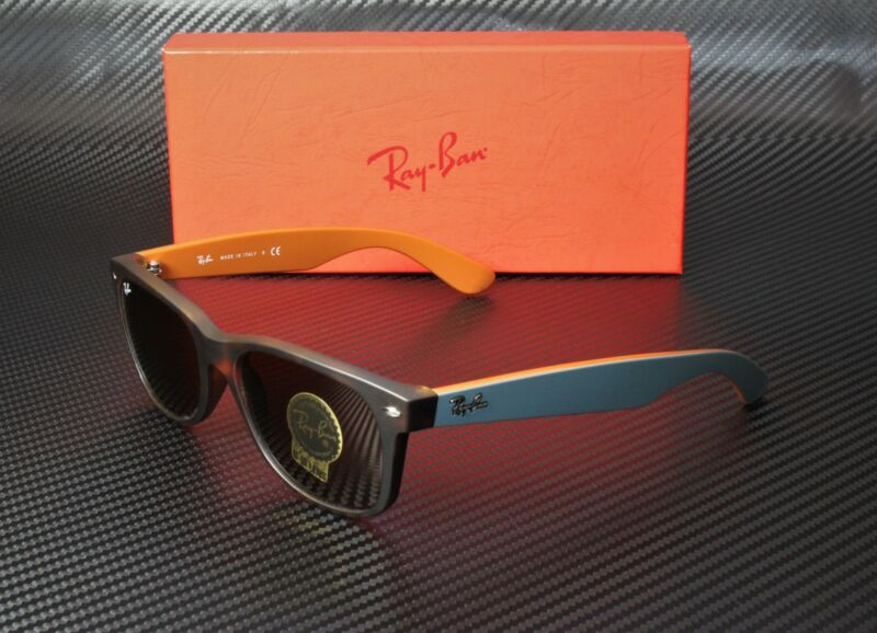 RAY BAN RB2132 6179 New Wayfarer Matte Havana Brown 55 mm Men