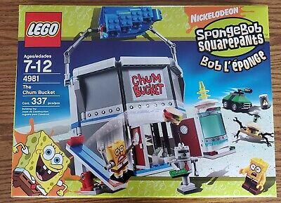 Lego SpongeBob SquarePants Chum Bucket (4981) New in Box