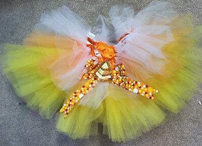 Candy Corn Tutu Costume (Candy Corn Tutu)