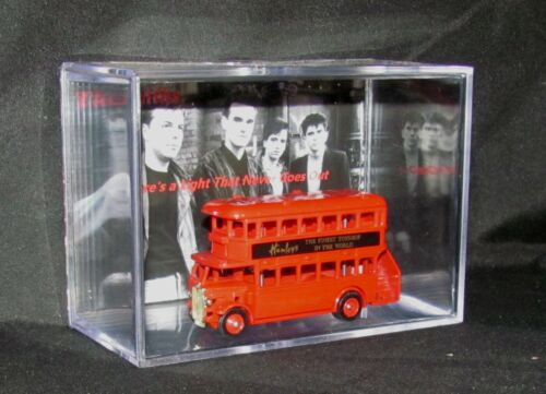THE SMITHS (Inspired by) DOUBLE DECKER BUS DISPLAY BRAND NEW
