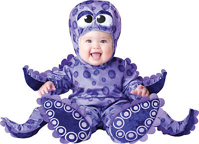 Tiny Tentacles Octopus Infant Toddler Child Costume Under Sea Theme Halloween - Tiny Tentacles Halloween Costume