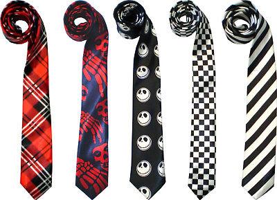 Krawatte Schlips Tie Binder Glanz Krawatten Anzug Party Karneval Halloween