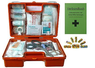 Erste-Hilfe-Koffer KITA PLUS DIN/EN 13157 für Betriebe + DIN/EN 13164 für KFZ