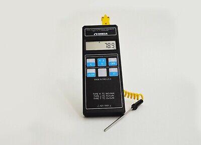 Omega Hh21 Precision Digital Thermometer For Tc K J T  Calibrated Guaranteed