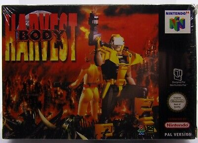 Body Harvest Nintendo 64 PAL CIB N64 *US Seller*