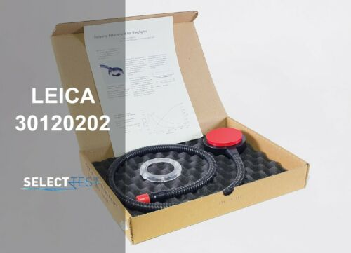 LEICA 30120202 MICROSCOPE GLASSFIBER RINGLIGHT RL-66/1000 NEW **LOOK** (REF.: G)