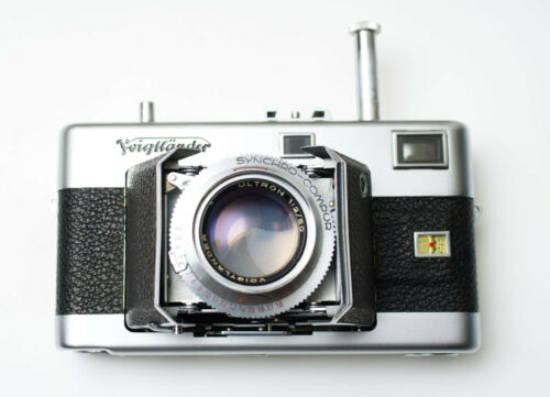 CLAed! Exc. Voigtlander Vitessa N2 w/Ultron 50mm f/2 35mm RF Rangefinder Camera