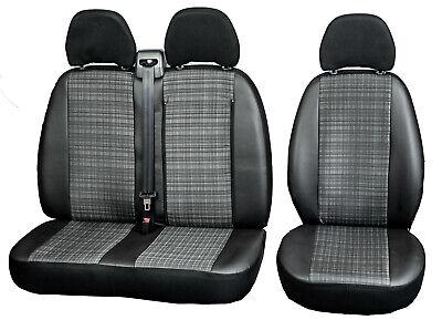 Bus Maßgefertigte Autositzbezüge in Kunstleder Prime für Mercedes Sprinter