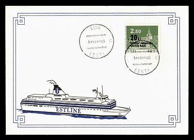 DR WHO 1994 RUSSIA/ESTONIA OVPT ELVA PAQUEBOT SHIP SEMI POST  g09830