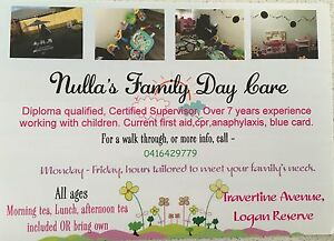 Nulla's Family Day Care Logan Reserve Logan Area Preview