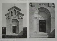 Architettura Funeraria_bergamo_torre Boldone_cappella Reich_angelini Ingegnere -  - ebay.it