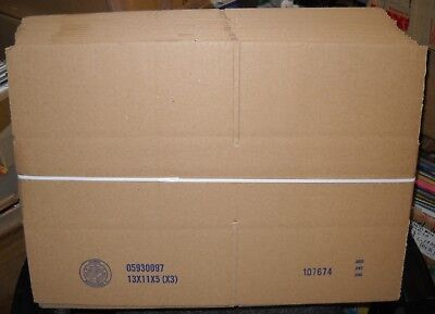 Wholesale Lot Of 25 Corrugated Cardboard Boxes, 13