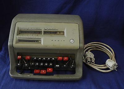 """antike, elektrische Rechenmaschine """" Facit CA1 - 13 """" Nr. 690852"""