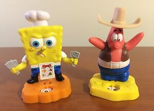 Spongebob Figurines Cake Toppers
