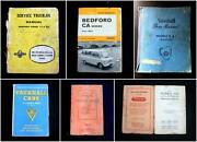 Vintage BEDFORD MORRIS VAUXHALL Operation User Manual (Price ea) Applecross Melville Area Preview