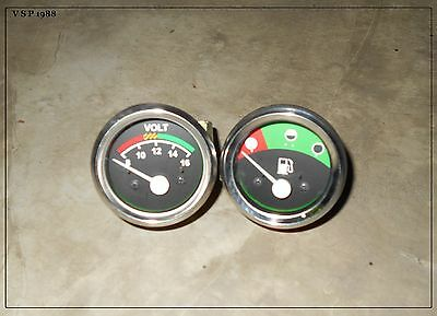 Massey Ferguson Mf Volt Meter Fuel Gauge For 230 235240243245250253263
