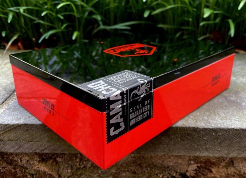 Camacho Corojo Empty Cigar Box, No Cigars