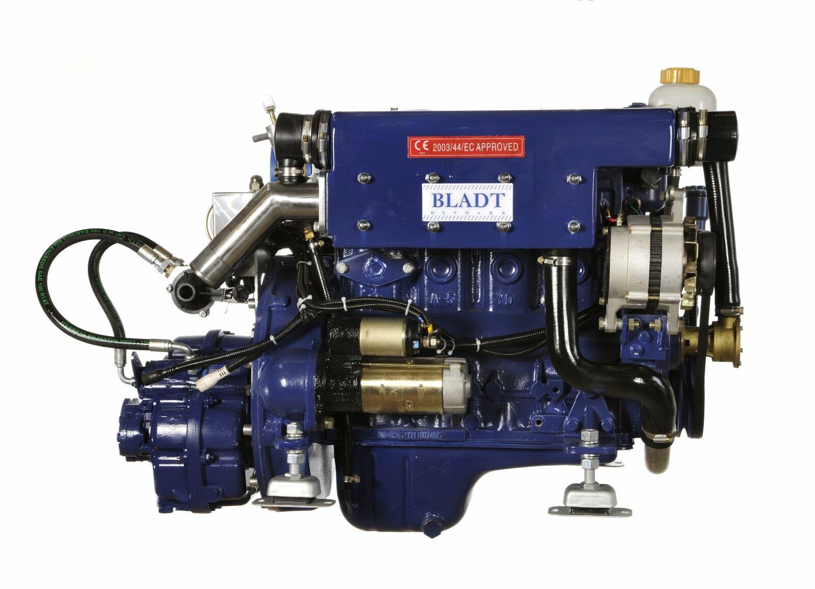 Bladt Diesel 37 PS Innenbordmotor (Segelboot / Motorboot Gleiter / Verdränger)