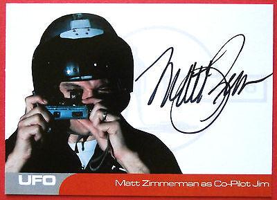 UFO - MATT ZIMMERMAN (MZ2) as Co-Pilot Jim - VERY LIMITED Autograph Card
